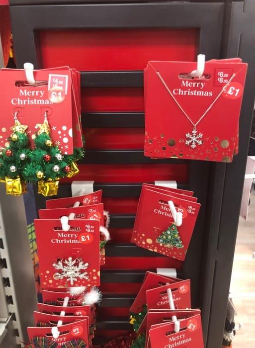 Christmas Earings / Necklace / Rings / Bracelets Just £1