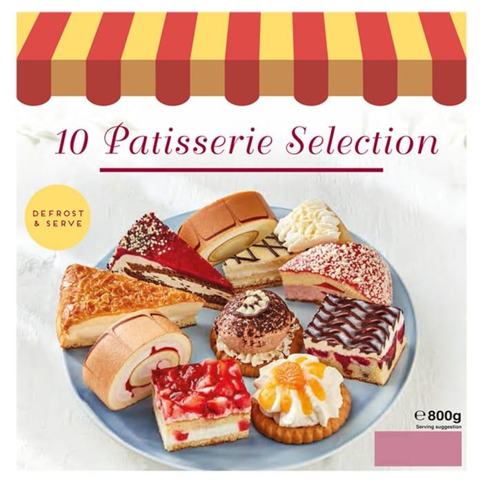 10 Patisserie Selection 800g - HALF PRICE