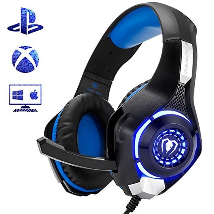 Beexcellent GM-1 Gaming Headset for PS4 Xbox One