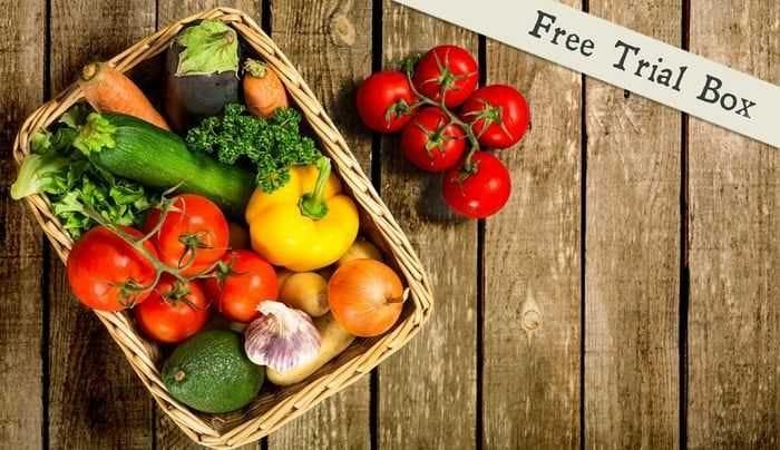 Free Fruit and Veg Box