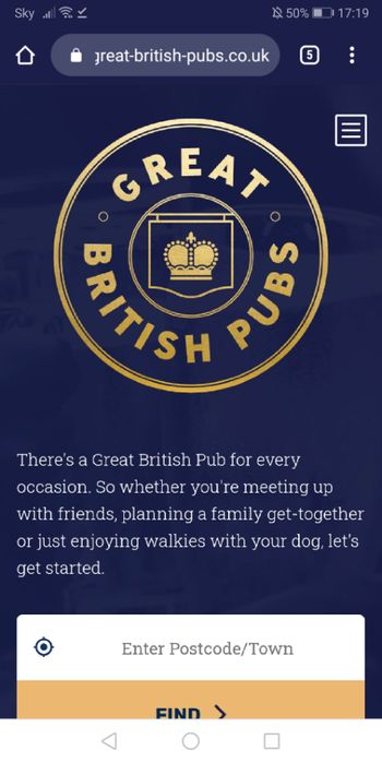 Great British Pubs Massive Give Away 100,000 Free Drinks - Sign up to App
