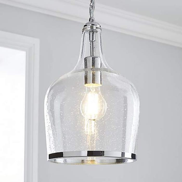 Lenny Glass Pendant Ceiling Light at Dunelm - Only £25.6!