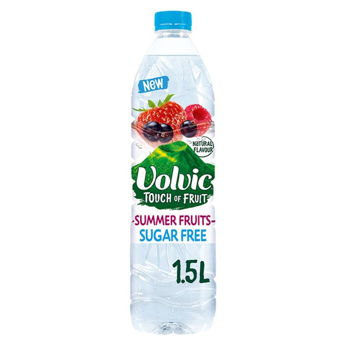 Cheap Volvic Sugar Free Summer Fruit Water 1.5L, Only £0.52!