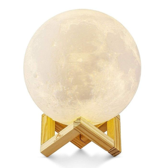 Special Offer - Moon Lamp 3 Colours - Touch Sensor - Large (15cm)