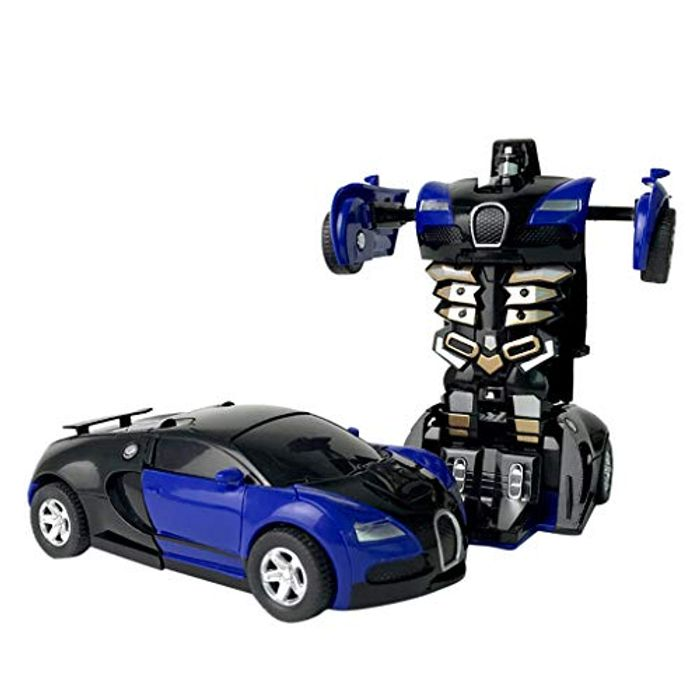 Children Remote Control Deformation Car Robot at Amazon - Only £3!