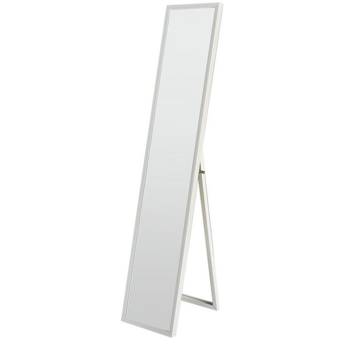Full Length White Frame Mirror