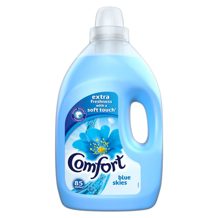 Cheap Comfort Blue Fabric Conditioner 85 Wash 3L - Save £2!