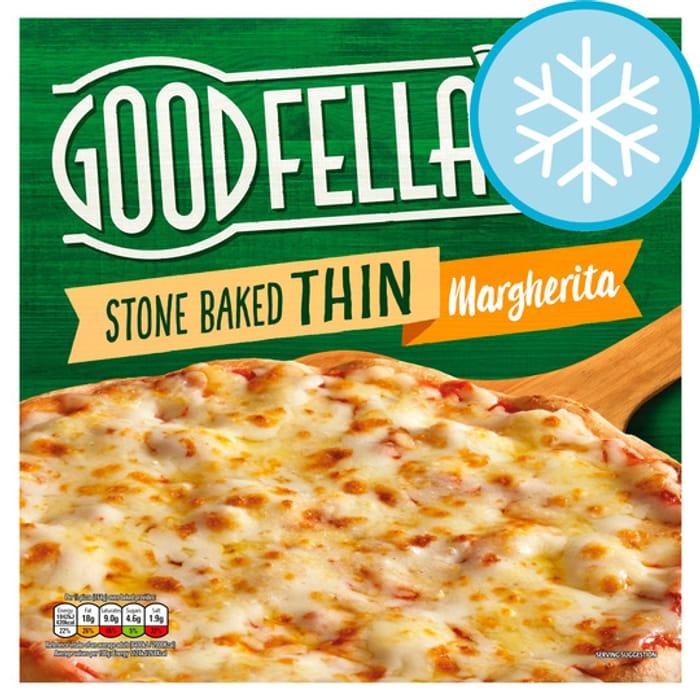 Goodfella's Pepperoni, Margherita, Chicken, Meat Feast Pizza - HALF PRICE!