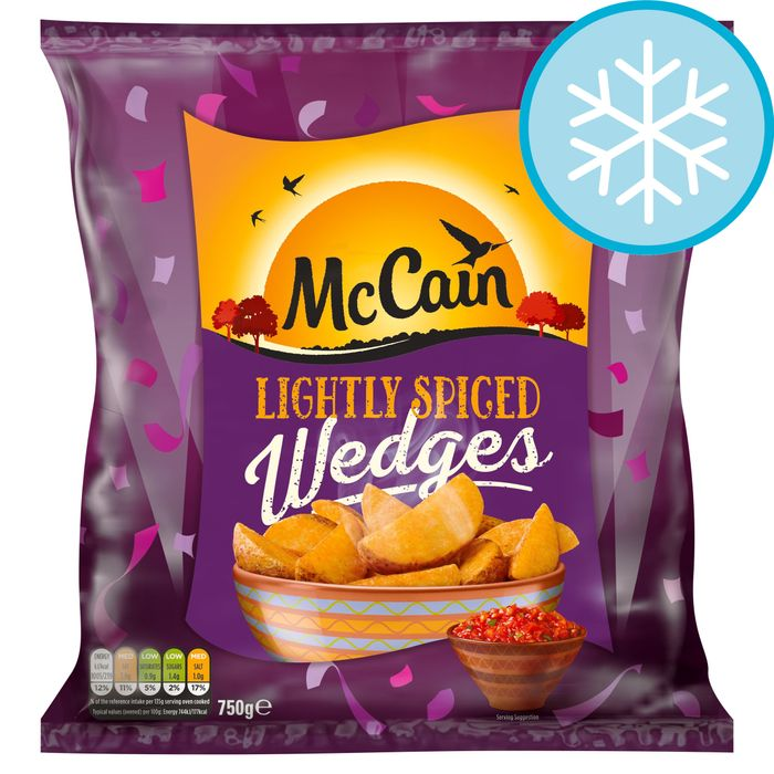 Mccain Lightly Spiced Wedges 750G