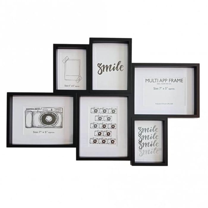 6 Multi Aperture Frame - Save £2!