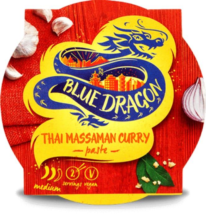 Blue Dragon Thai Massaman Curry Paste Pot 50g - Save £0.40!