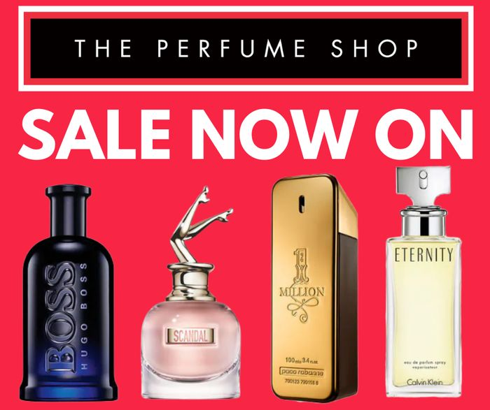 The Perfume Shop January Sale - Prices From Just £9.99!