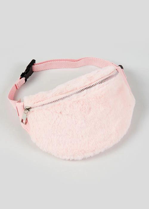 50% Off Girls Faux Fur Bum Bag