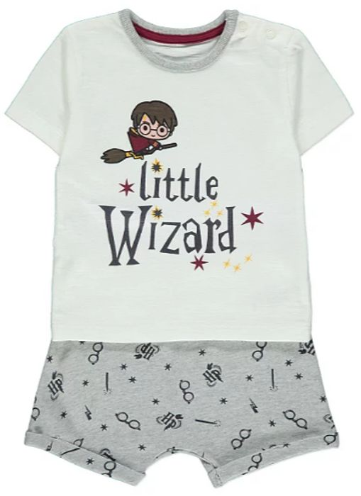 Harry Potter Little Wizard Slogan Outfit Only £5