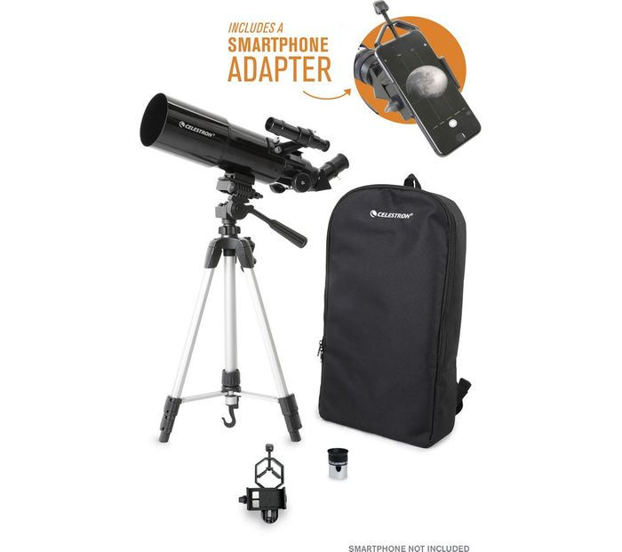 *SAVE £60* CELESTRON Travelscope Refractor Telescope - Black