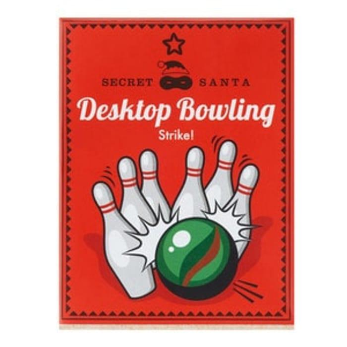 Secret Santa Desktop Bowling