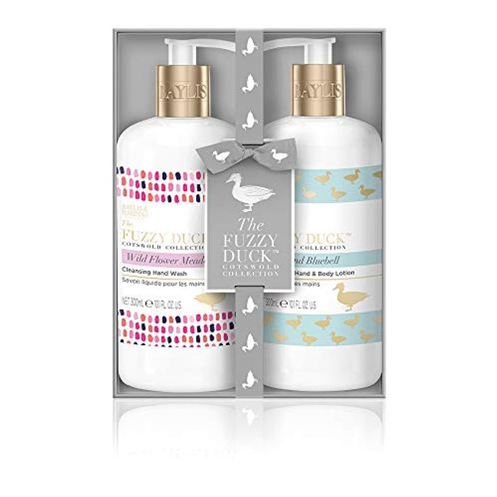 Price Drop! Baylis & Harding Fuzzy Duck Cotswold Floral Luxury Hand Care Set