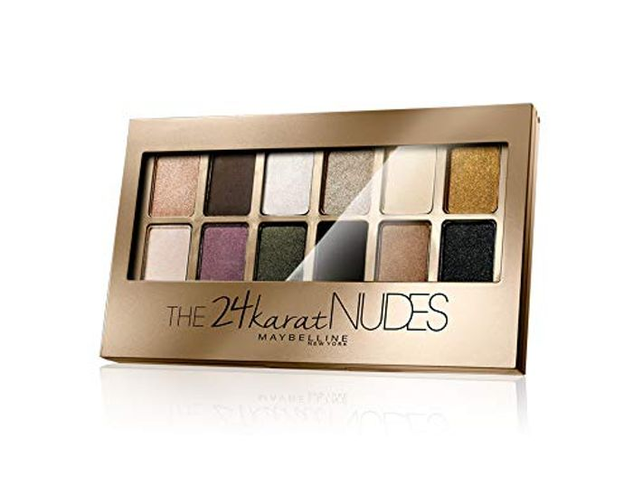 Maybelline Eye Shadow Pallet Nudes