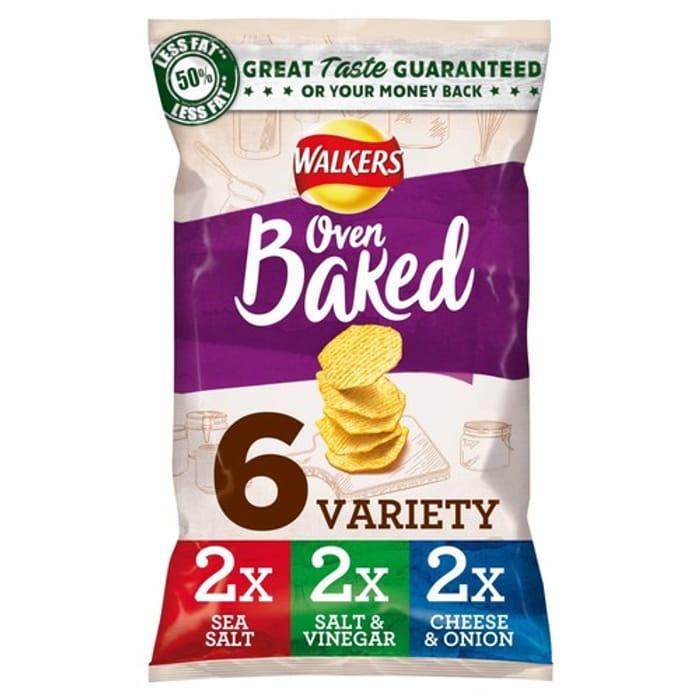 Walkers Baked Variety Snacks