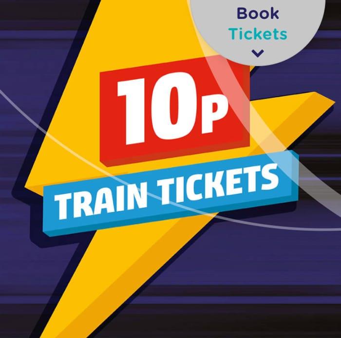Northern Rail 10p Online Flash Sale