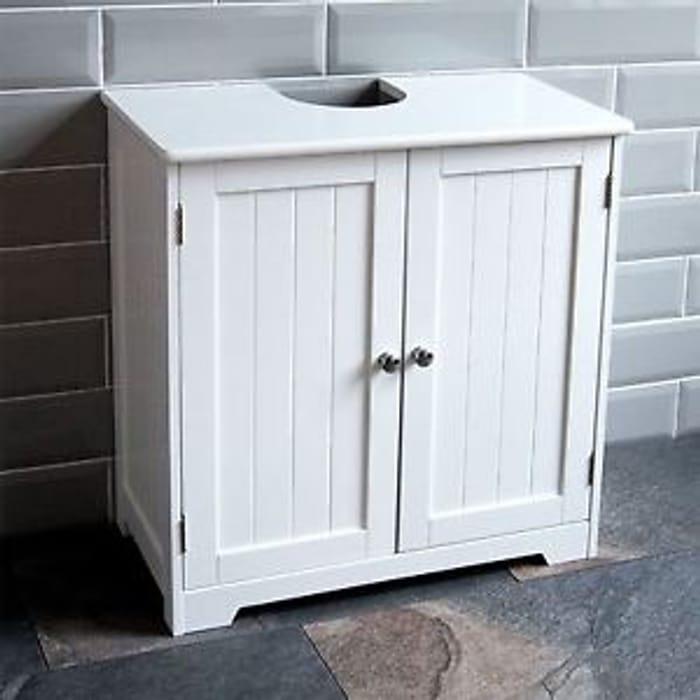 Priano Bathroom Sink Cabinet under Basin Unit down to £23.96