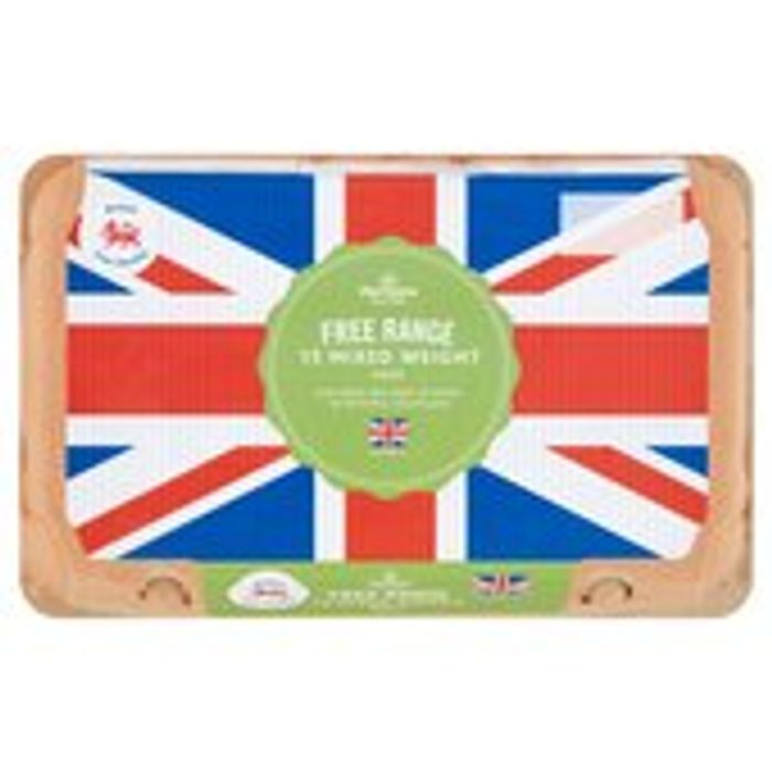 Morrisons Free Range Eggs Mixed Weight 15 per Pack