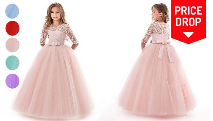 Kids' Princess Party Dress - 5 Colours & Ages 5-14!