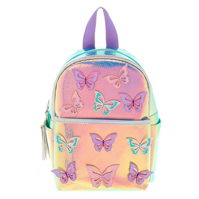 Holographic Butterfly Mini Backpack Down From £25 to £10!