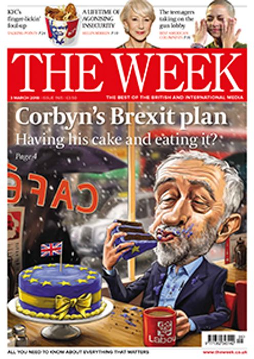 Claim Your FREE Copy Of 'The Week'