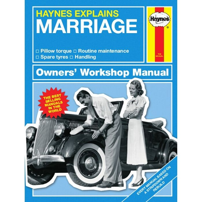 Haynes Explains Marriage Book at Euro Car Parts (Free Click & Collect)