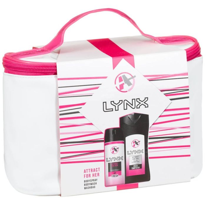 Lynx Attract For Her Washbag Only £3
