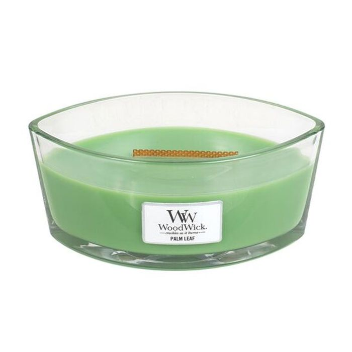 Woodwick Palm Leaf Ellipse Candle