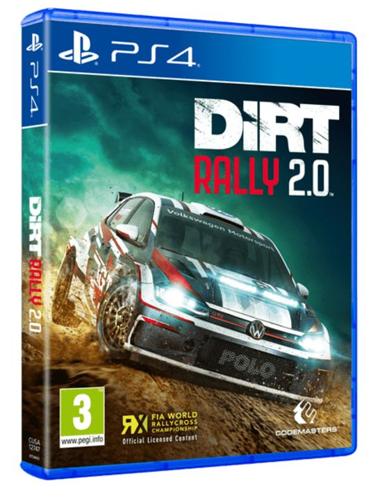 Cheap PS4 / XBox One DiRT Rally 2.0 Day One Edition Inc. SteelBook Only £14.85!