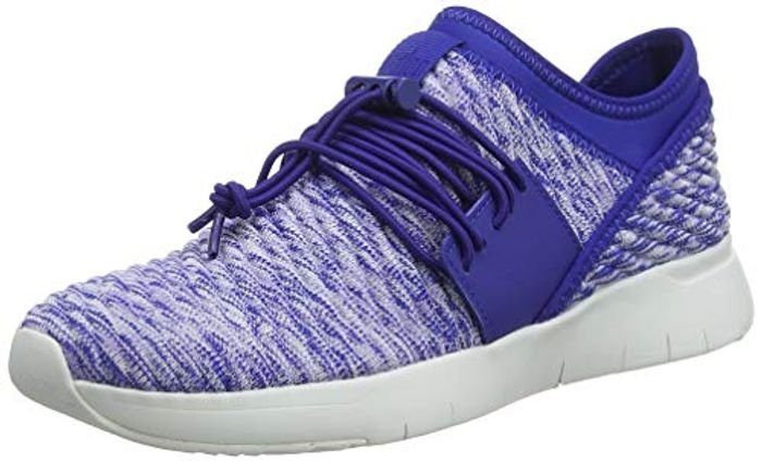 Fitflop Women's Artknit Angeline Lace up Sneaker Trainers