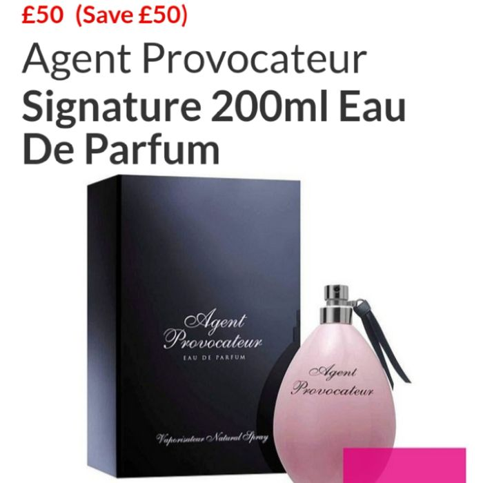 Agent Provocateur Signature 200ml Eau De Parfum