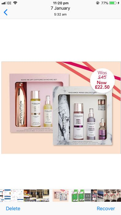Revolution Skincare Radiant Rose Collection in Boots