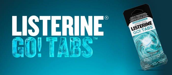 Free Pack of Listerine Go Tabs