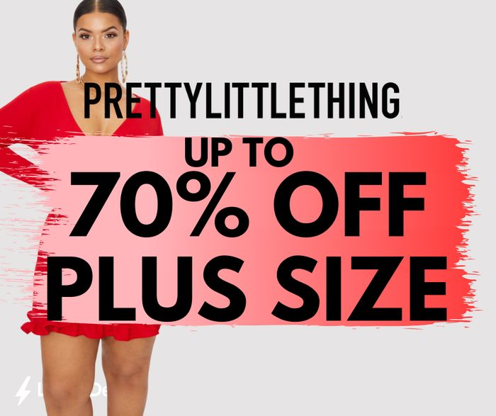 Pretty Little Thing Up To 70% Off Plus Clothing Sale