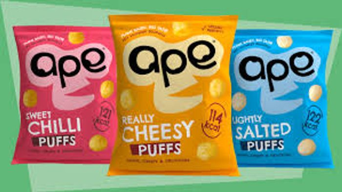Free Ape Snacks Really Cheesy/Lightly Salted/Sweet Chilli Puffs -Sign up to Test