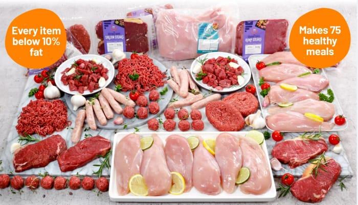 Special Offer - Buy Super Lean Meat Hamper & Get 4 Hampers + Snack Hamper FREE!