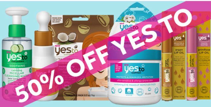 Yes To Beauty 50% OFF *See Pics There's Some Real Bargains!