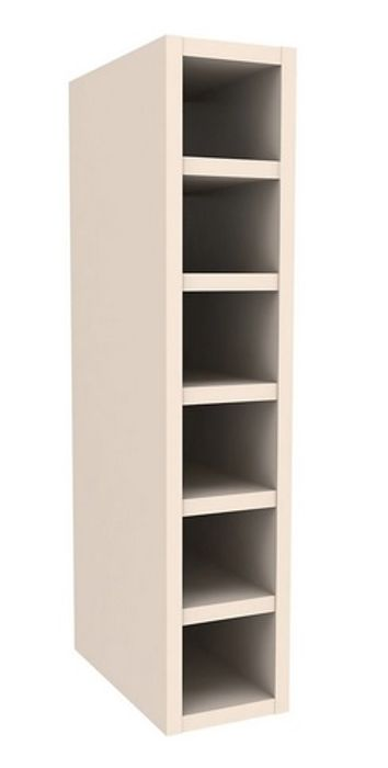 Cooke & Lewis Ivory Wine Rack Cabinet, (H)720mm (W)150mm