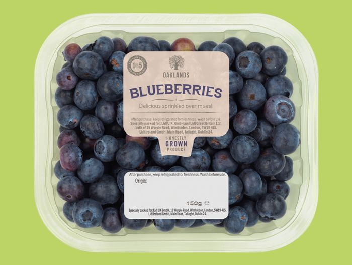 Oaklands Blueberries 150g
