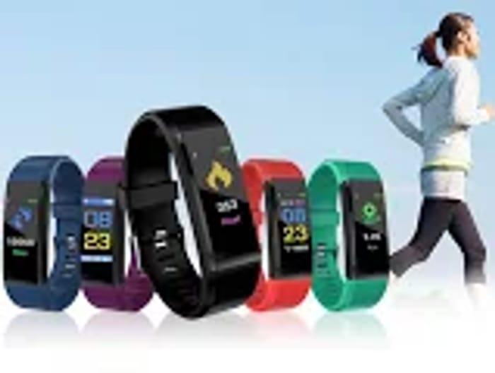 116 plus 20-in-1 Smart Watch & Fitness Tracker - 5 Colours