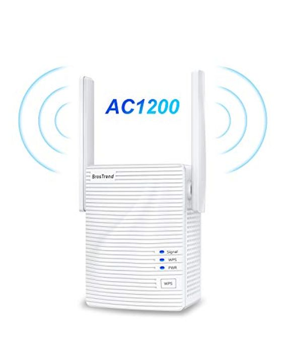 BrosTrend AC1200 WiFi Booster Range Extender,