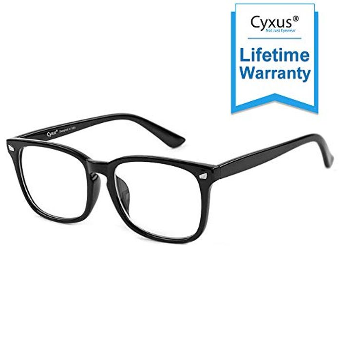 Cyxus Blue Light Filter Computer Glasses for Blocking UV Headache