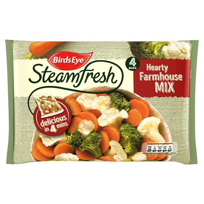 Birds Eye Steamfresh Hearty Farmhouse Mix 4 Bags