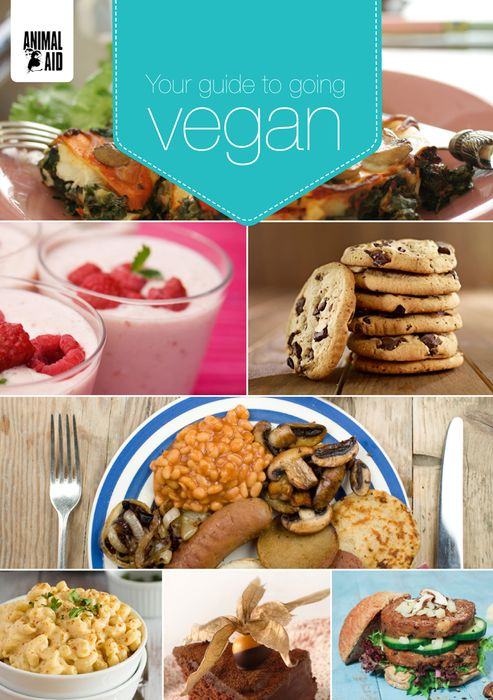 Free Guide to Going Vegan Information Pack