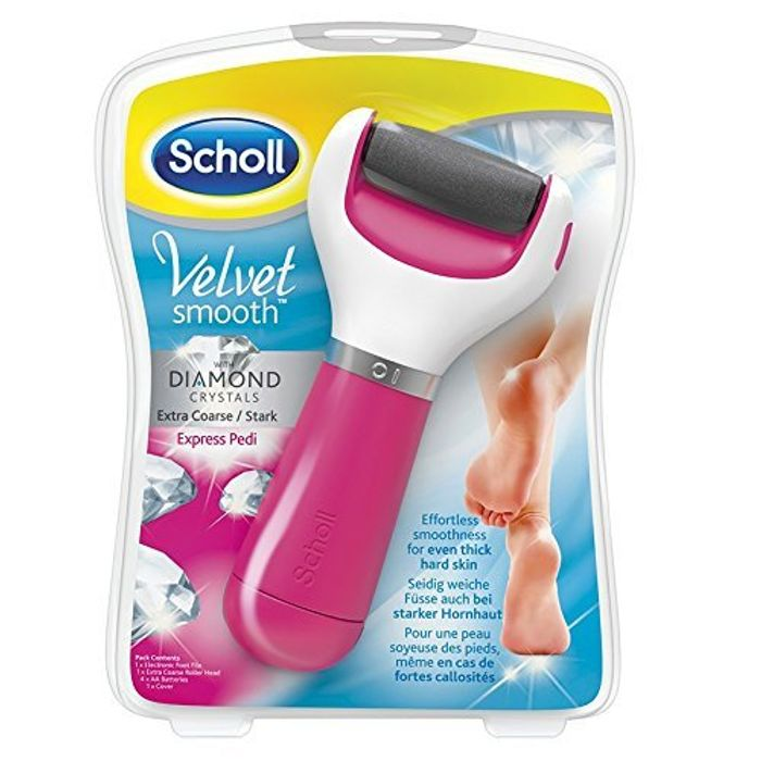 Best Ever Price! Scholl Velvet Smooth Pedi Electric Foot File Hard Skin Remover
