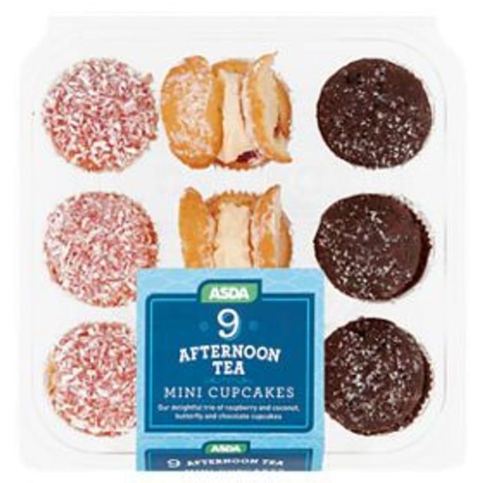 ASDA Mini Afternoon Tea Cupcakes